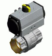 Pneumatic Brass Ball Valve
